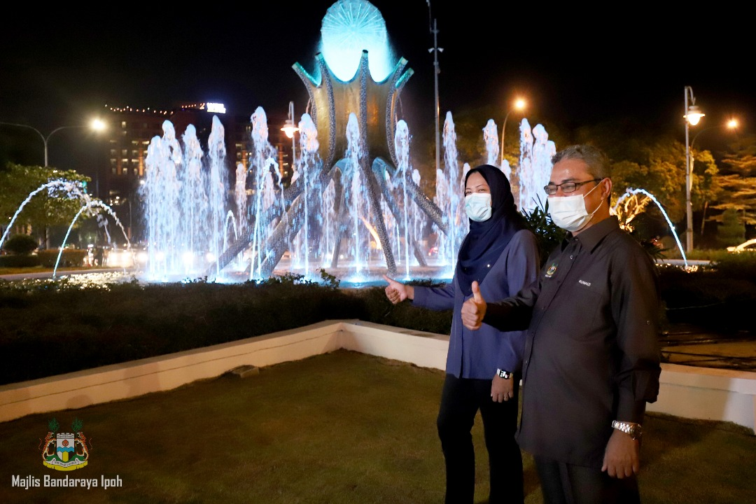 RM400,000 upgrade for iconic fountain in Ipoh