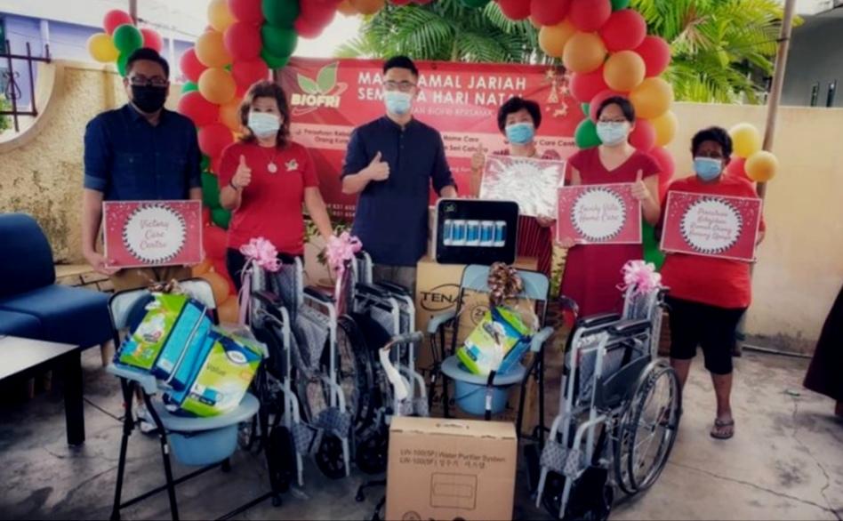 BioFri brings Christmas cheer to the underprivileged in Ipoh.
