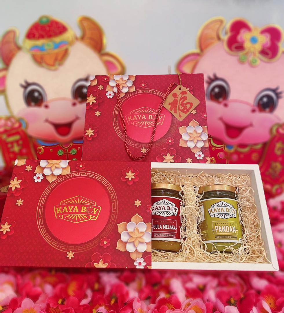 Kaya Boy CNY gift packs for family and friends