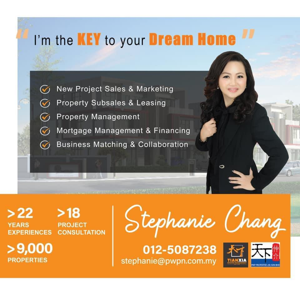 Ipoh's very own property guru – Stephanie Chang