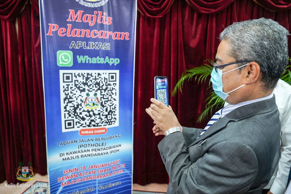 """Ipoh to become a """"Smart City"""" soon – Ipoh Mayor"""