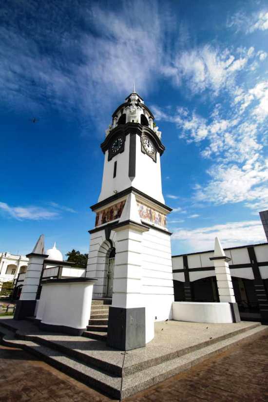 JWW Birch memorial clock tower in Ipoh stands tall