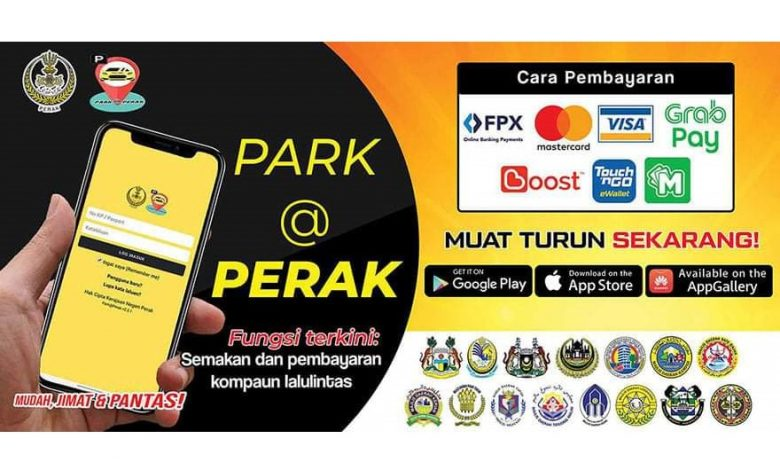 Ipoh mayor calls on residents to register on PARK@PERAK
