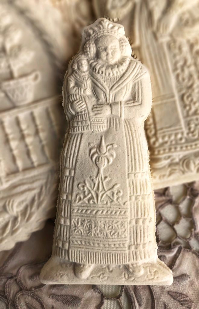 Mold 9920: Mother with Child circa 1700 Springerle Cookie Mold