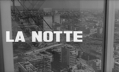 la notte | Postmodernist Fiction