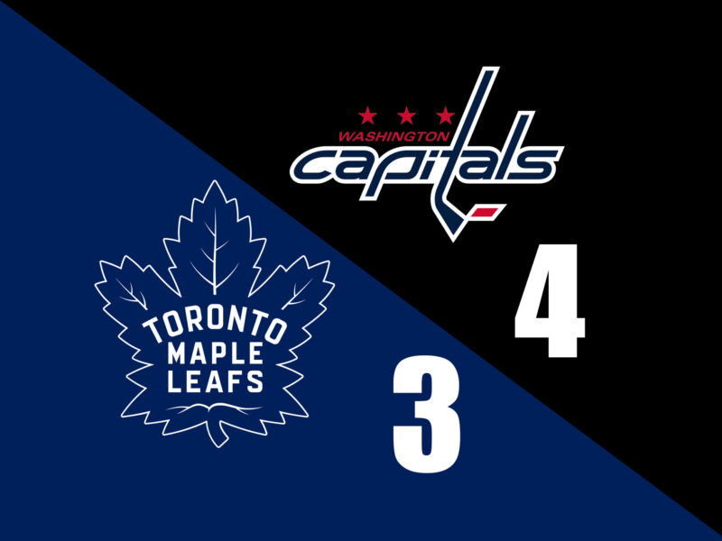 Leafs fall to Capitals