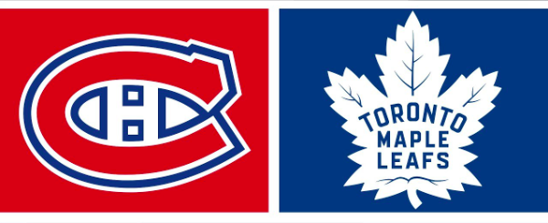 Toronto Maple lefas Montreal Canadiens