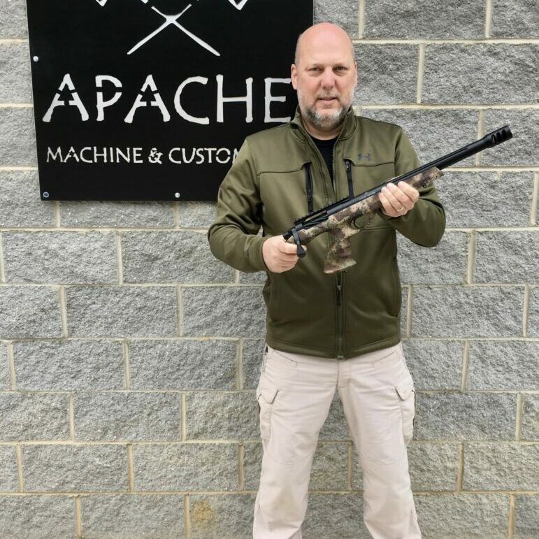 Steve Roe of Apache Machine & Custom, LLC