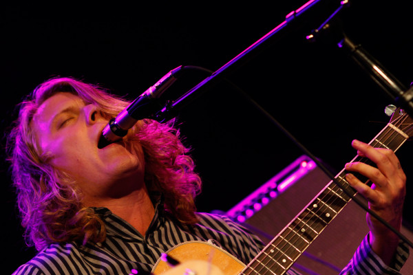 Ty Segall plays at Bowery Ballroom in New York, NY on Aug. 30, 2013.