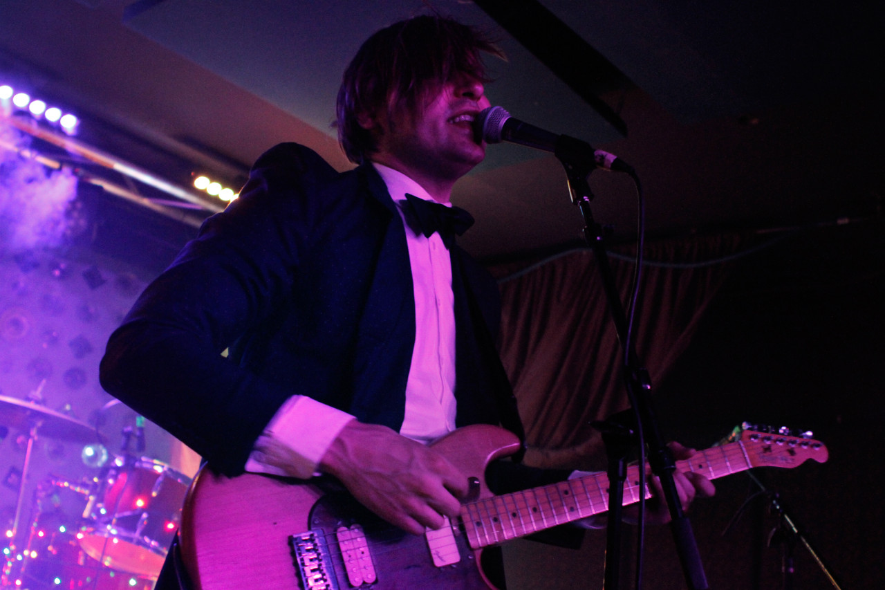 Will Butler plays at Baby's All Right in Brooklyn, NY on March 7, 2015.