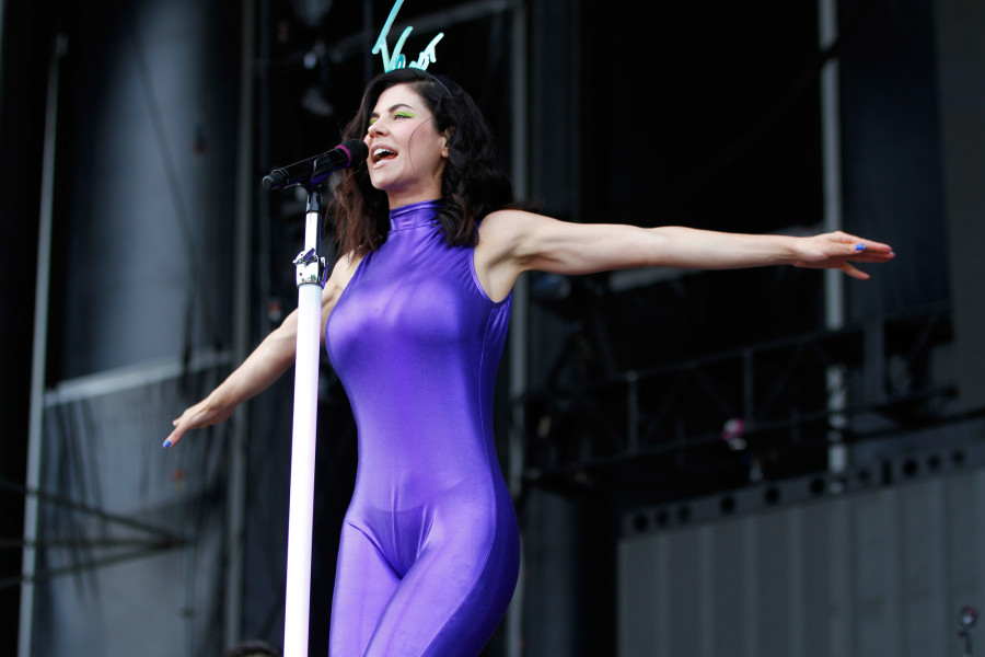 Marina And The Diamonds performs on the GovBallNYC stage at Governors Ball on Randall's Island, New York, on June 6, 2015. (© Michael Katzif – Do not use or republish without prior consent.)