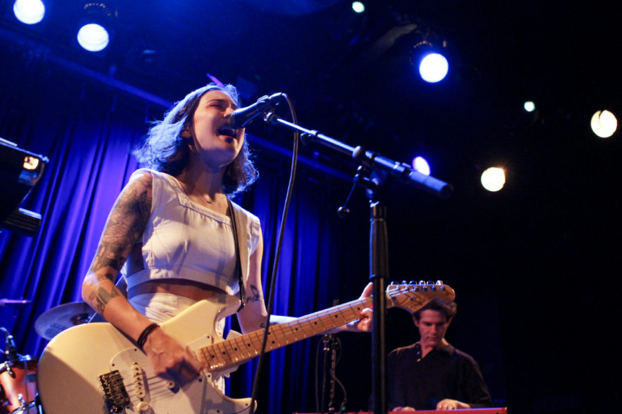 Japanese Breakfast plays at Music Hall of Williamsburg in Brooklyn, New York on Oct. 12, 2017. (© Michael Katzif - Do not use or republish without prior consent.)