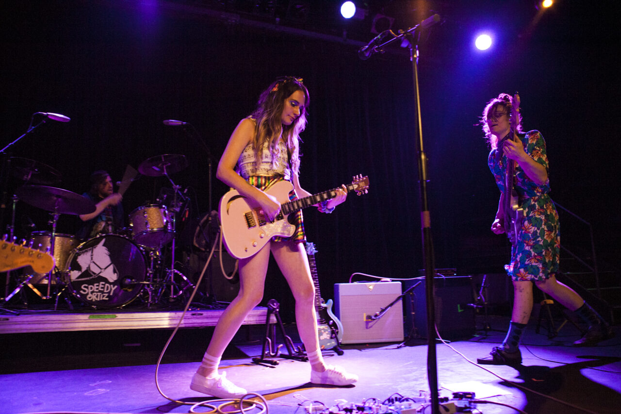 Speedy Ortiz plays at Music Hall Of Williamsburg in Williamsburg, Brooklyn, New York on May 17, 2018. (© Michael Katzif - Do not use or republish without prior consent.)