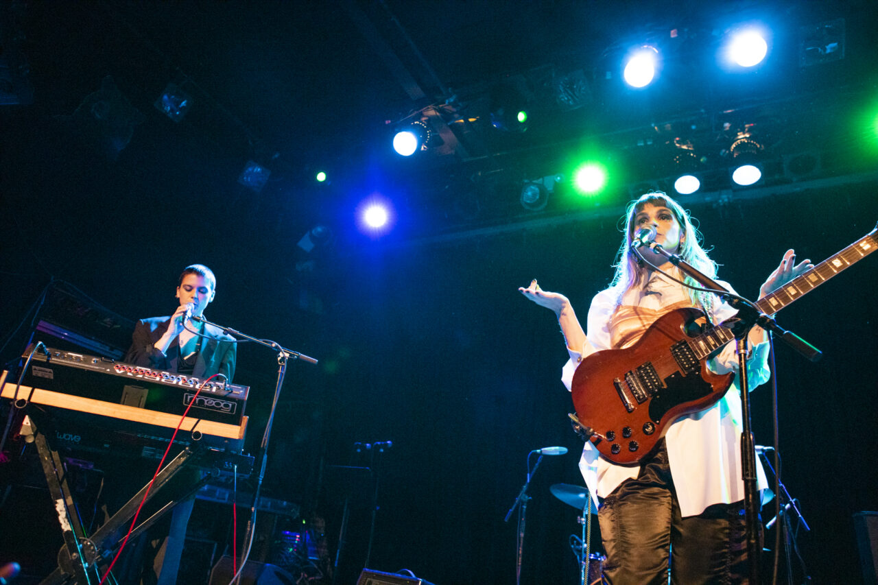 TEEN plays its final show at Music Hall Of Williamsburg in Williamsburg, Brooklyn, New York on Oct. 30, 2019. (© Michael Katzif - Do not use or republish without prior consent.)