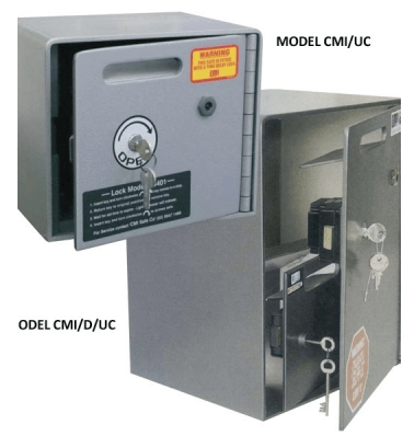 CMI Anti-holdup Safe Time Delay – CMI/D/UC
