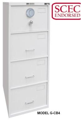 B Class Filing Cabinet – Model G-CB4