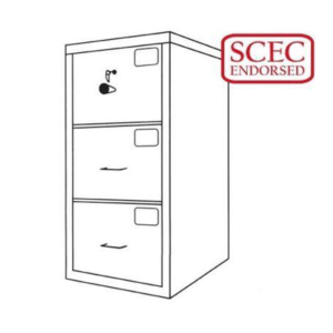 CMI Class C Filing Cabinet – Model GCC3