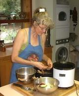 Making Chicken Bone Marrow Broth