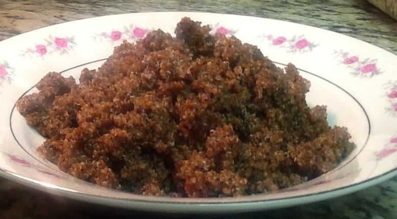 A Just Discovered SuperFood~ Kaniwa