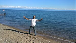 Banks of Lake Baikal