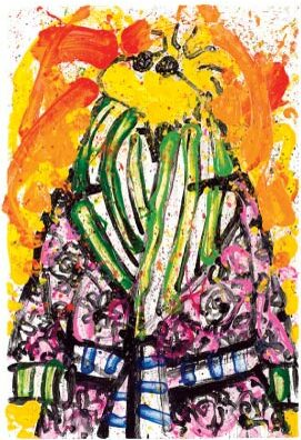 """Shorty Wearing Jim Dine - 45"""" x 32"""" or 22"""" x 16"""""""