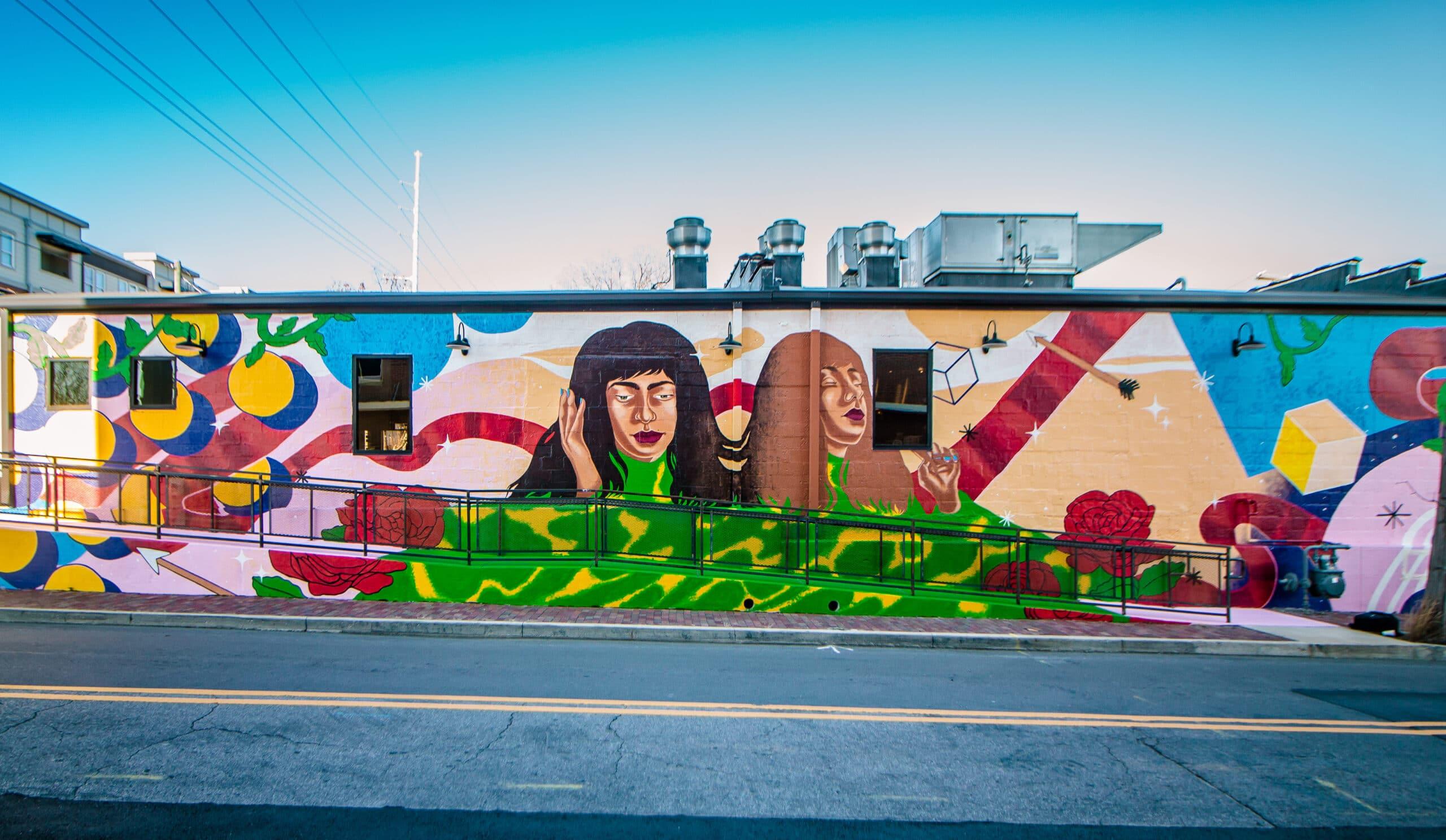 Pandora Music Premieres 9 Murals Around The Country