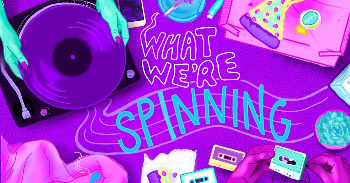 What We're Spinning, nostalgic tunes