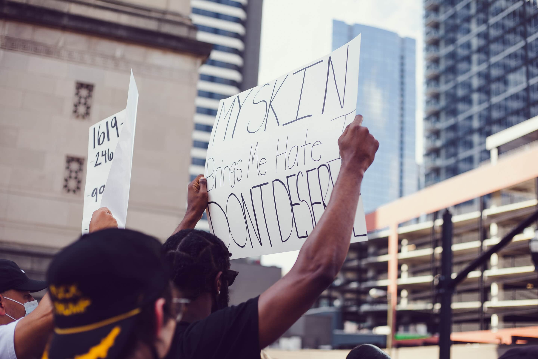 No justice, no peace. No racist police.