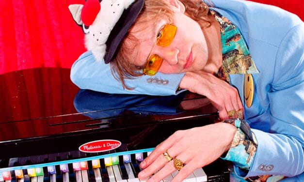 From yoga in the studio with Madonna to absurdist glam rocker, Baby FuzZ and his music are a one of a kind