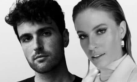 "Dutch artist Duncan Laurence teams up with FLETCHER on a poignant new version of his global hit, ""Arcade."""