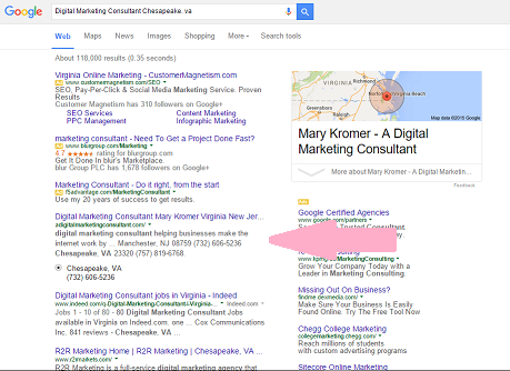 SEO - Search Result Page