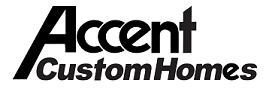 Accent black logo