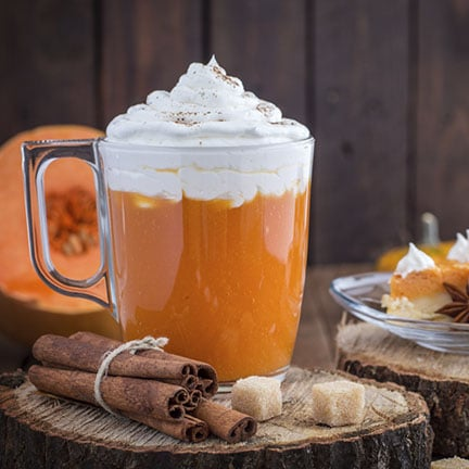 Hot Pumpkin Pie Steamer