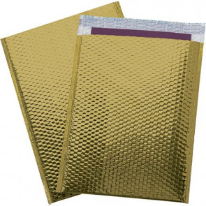 Metallic Glamour Bubble Mailers