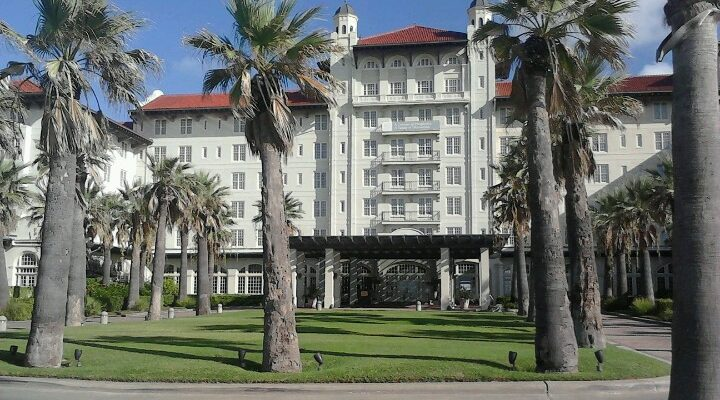 Reputed Hotel Galvez one of Galveston's most famous haunted locals
