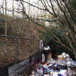 landscape trash