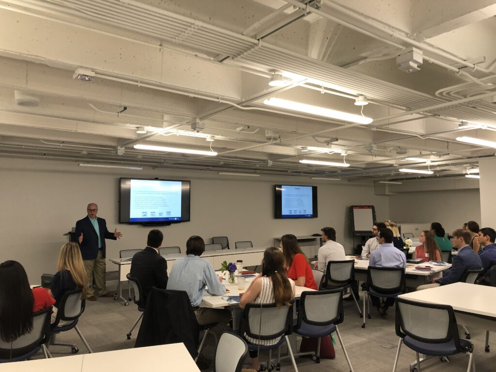 Kassouf Hosts Undergraduate Accounting Students for Annual Connect Program