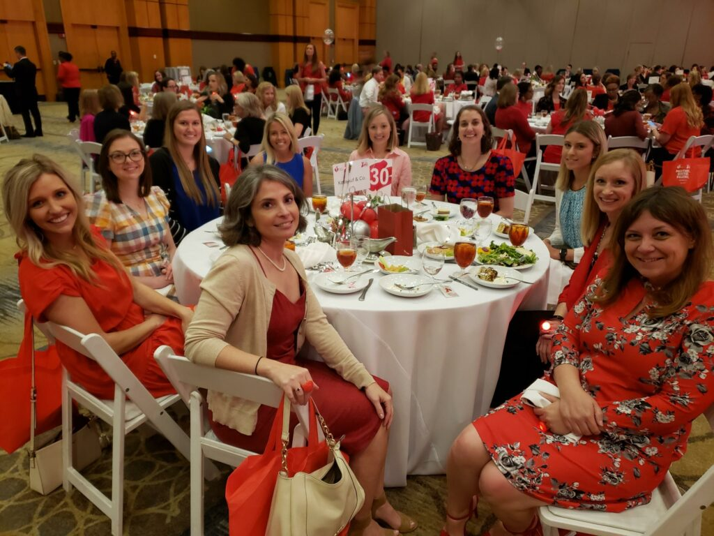 Kassouf Employees Attend the American Heart Association's Go Red For Women Luncheon