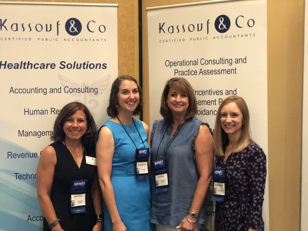 Kassouf & Co. at the Alabama MGMA Summer Conference