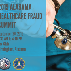 2019 Alabama Healthcare Fraud Summit
