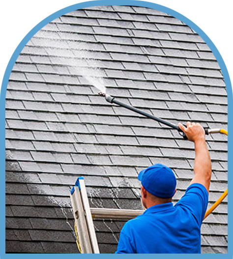 Low Pressure Roof Washing