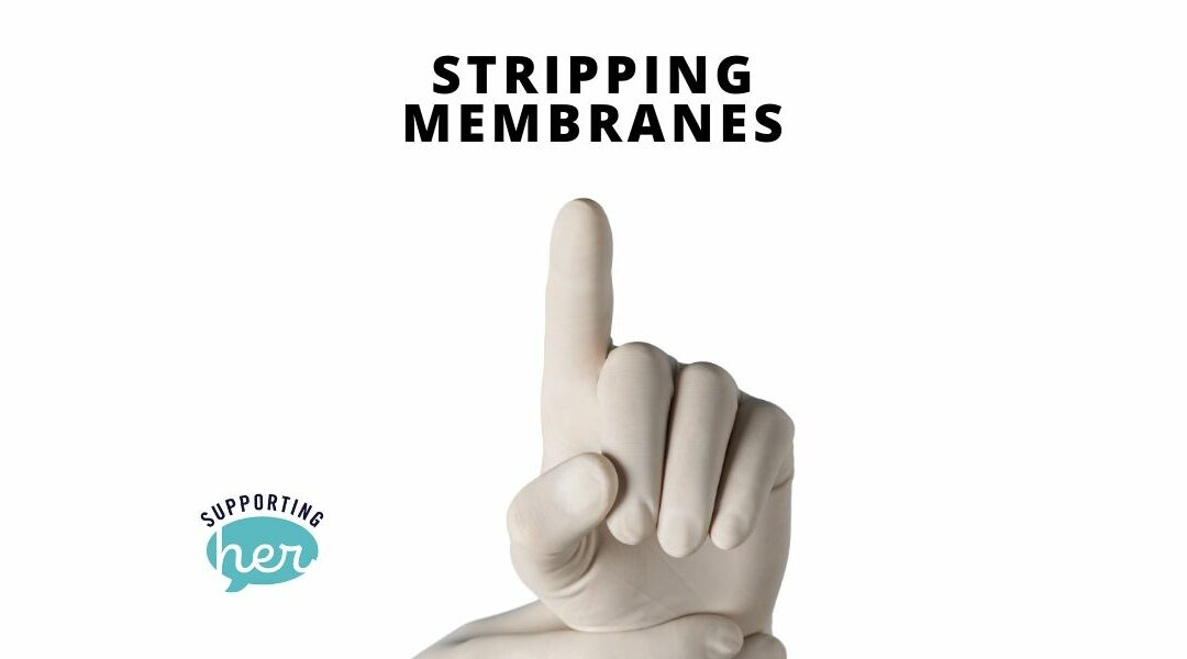 Stripping membranes