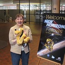 Sally Jenson, best PAREI Volunteer