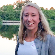 Melissa Leszek, member of the PAREI BOD