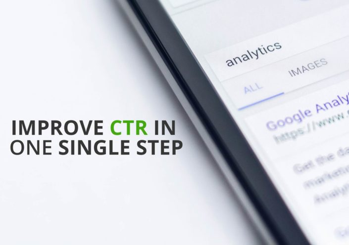 Improve CTR in One Single Step
