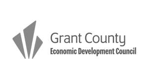 Grant county Economic Development Council logo.