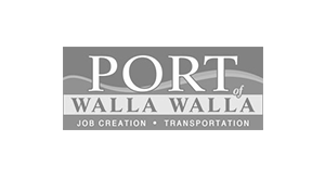 Port of Walla Walla logo.