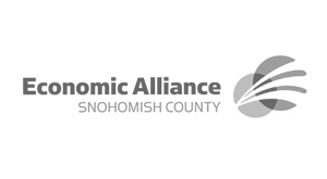 Snohomish county Economic Alliance logo.