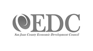 San Juan county Economic Development Council logo.