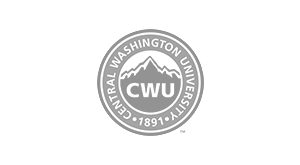 Central Washington University logo.